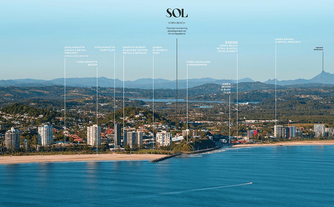 South aspect view